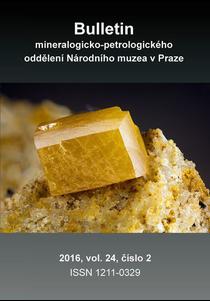 Bulletin mineralogicko-petrologického oddělení Národního muzea v Praze