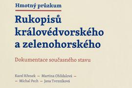 Knihovna NM vydala monografii Hmotný průzkum Rukopisů královédvorského  a zelenohorského